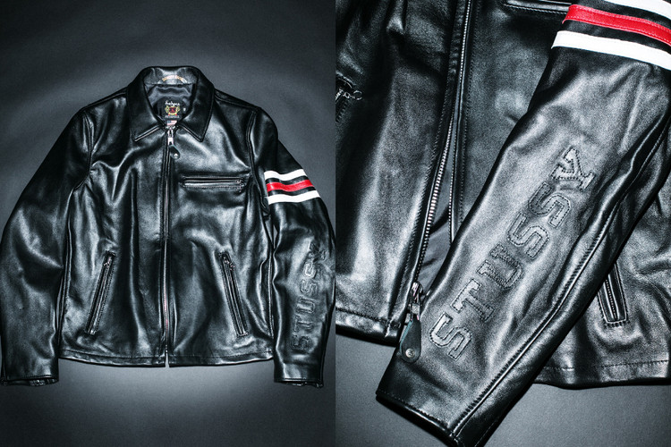 aae7b82dd52b Stüssy   Schott NYC Release a Limited Edition Rider s Jacket
