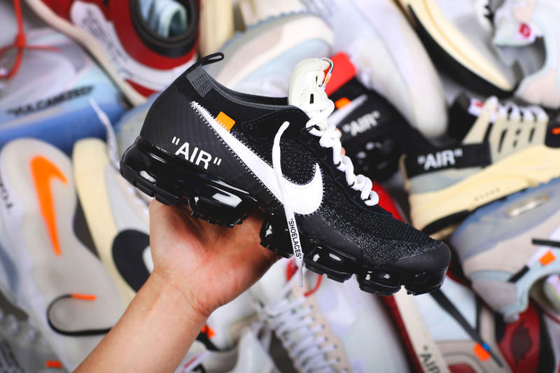 Virgil Abloh Off-White Nike The Ten Icons Reconstructed Air Max 90 Vapormax Presto Air Jordan 1