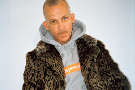 Jason Dill Models Supreme Fall/Winter 2017 in 'GRIND' Editorial