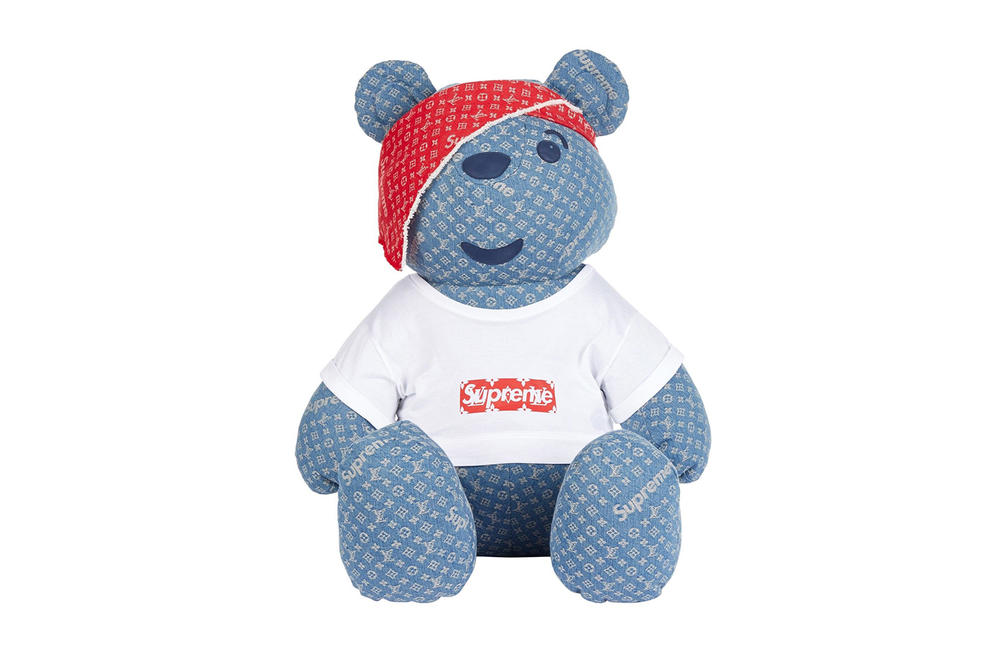X1 Supreme Louis Vuitton Pudsey Bear eBay Auction BBC Children in Need