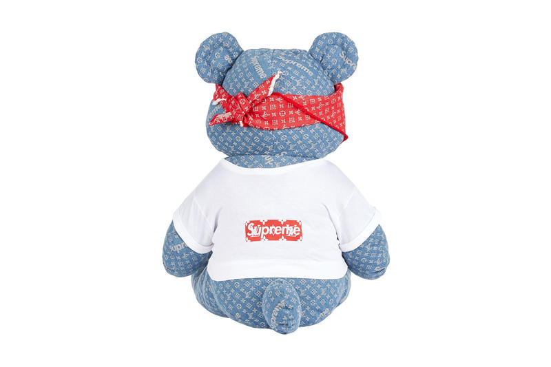 X1 Supreme Louis Vuitton Pudsey Bear eBay Auction BBC Children in Need