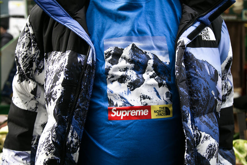 Supreme The North Face 2017 London Drop Street Style Streetsnaps Photos First Look
