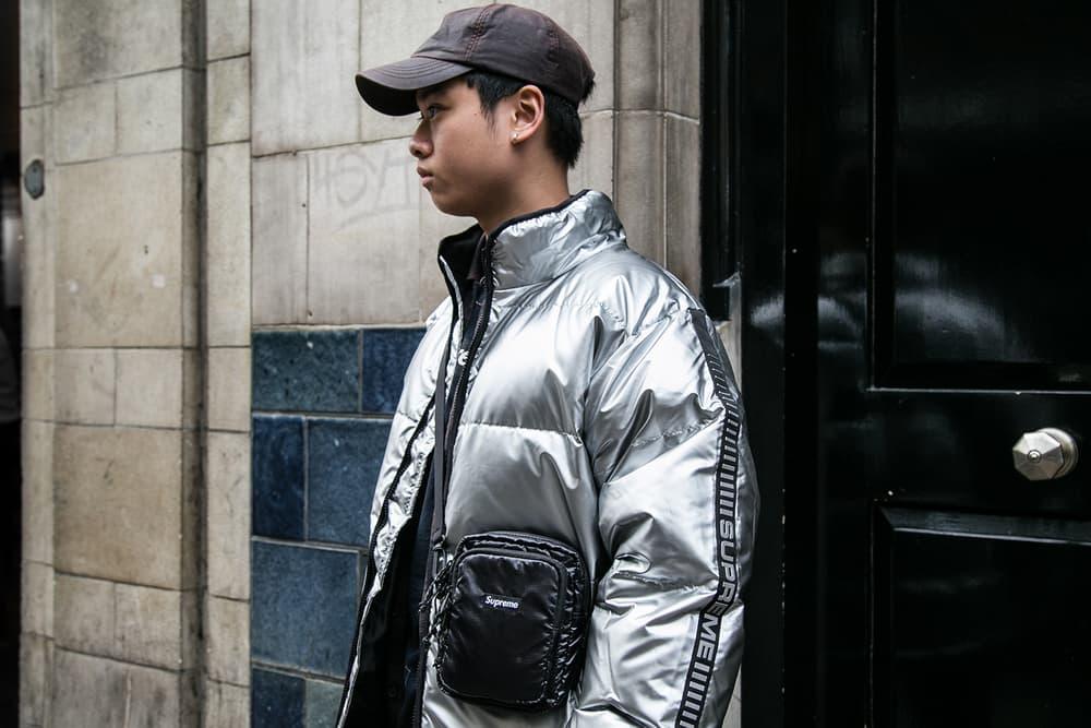 Supreme Timberland 2017 London Drop Style Street Style Streetsnaps London Fall/Winter 2017