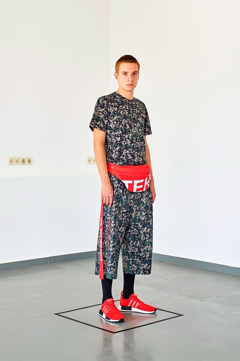 T3CM 2018 Collection Lookbook Dmitri Kluchevski spring summer russia russian Neue Slowenische Kunst streetwear fashion menswear