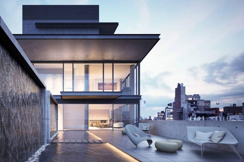 Tadao Ando's Penthouse at 152 Elizabeth Street New York City Manhattan