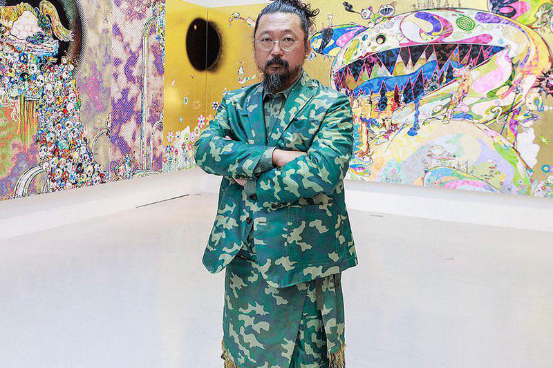 Takashi Murakami The Deep End of the Universe Exhibit Albright Knox Art Gallery suit blazer camo camouflage buffalo ny new york
