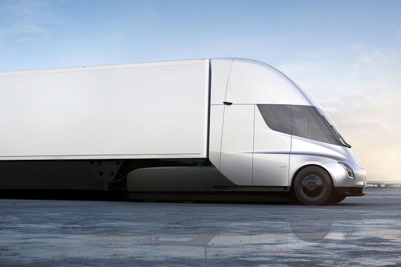 Tesla New Roadster Electric Semi Truck Unveilings Unveiled 2017 November 16 Elon Musk Debut Car Electric