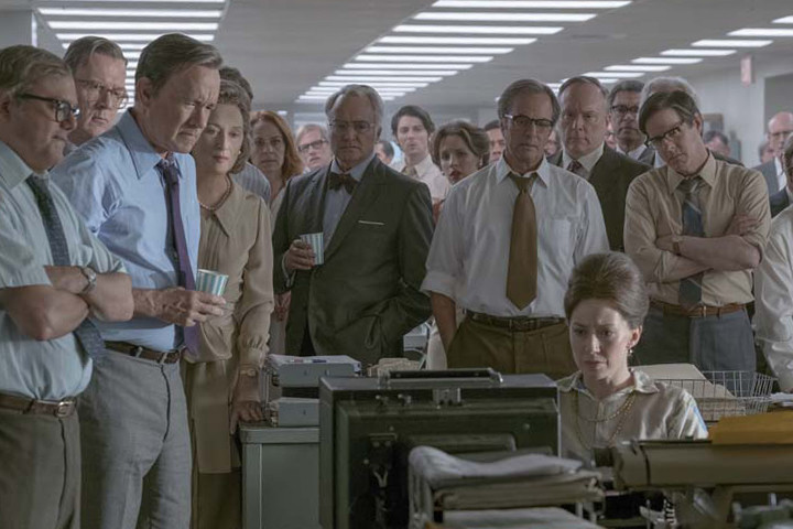 d8d65fef31eac Steven Spielberg Unveils First Trailer for  The Post  Starring Tom Hanks ...