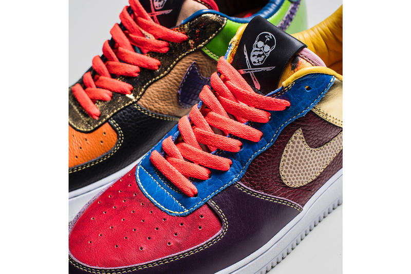 The Shoe Surgeon Nike Air Force 1 Low What the Scrap Custom Black Friday 2017 Release