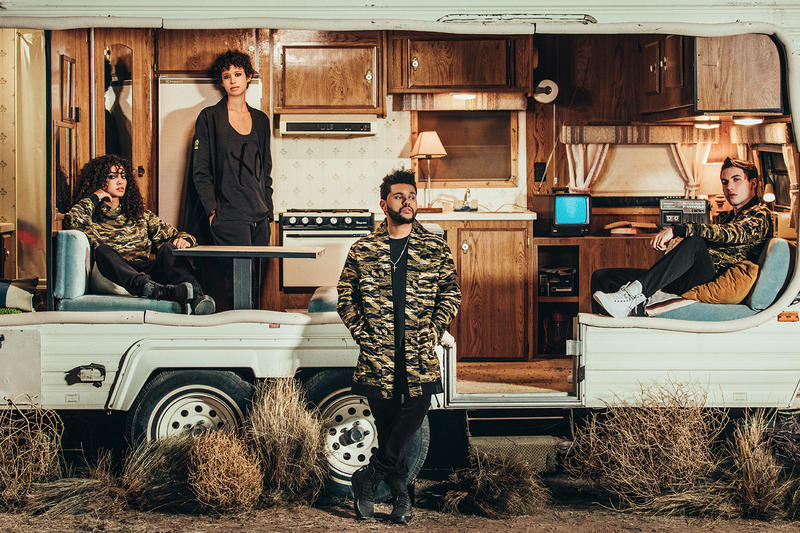 The Weeknd PUMA XO Collection Drop 3 2017 November 11 Release Date Info Camo Camouflage Crafted Military