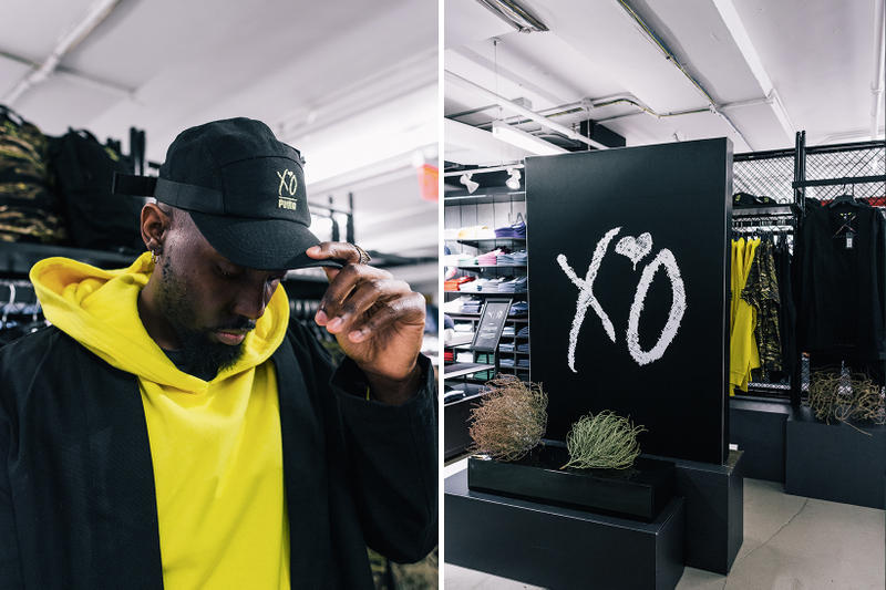 A Closer Look at The Weeknd x Puma XO Collection  at Bloomingdales, NYC