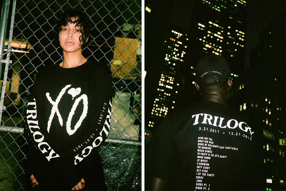 The Weeknd Trilogy Fifth Anniversary Collection T-Shirt Cap Vinyl