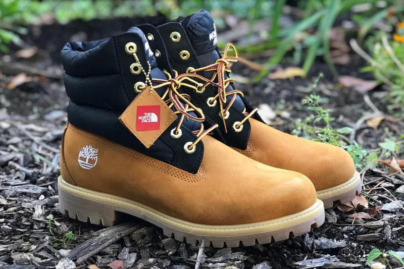 Timberland x The North Face Nuptse Boot