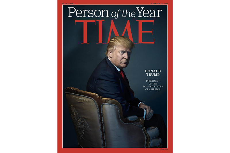 Time Donald Trump Person of the Year Claim