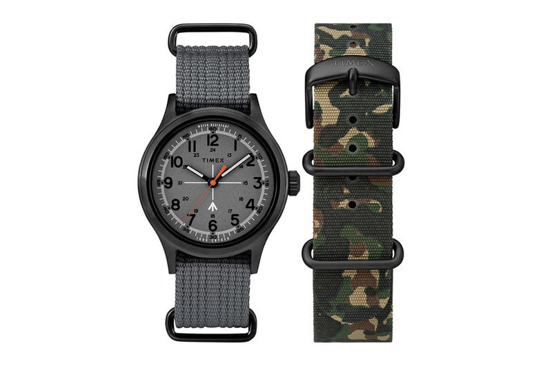 Todd Snyder Timex Military Watch Collection Camo Print Fall 2017