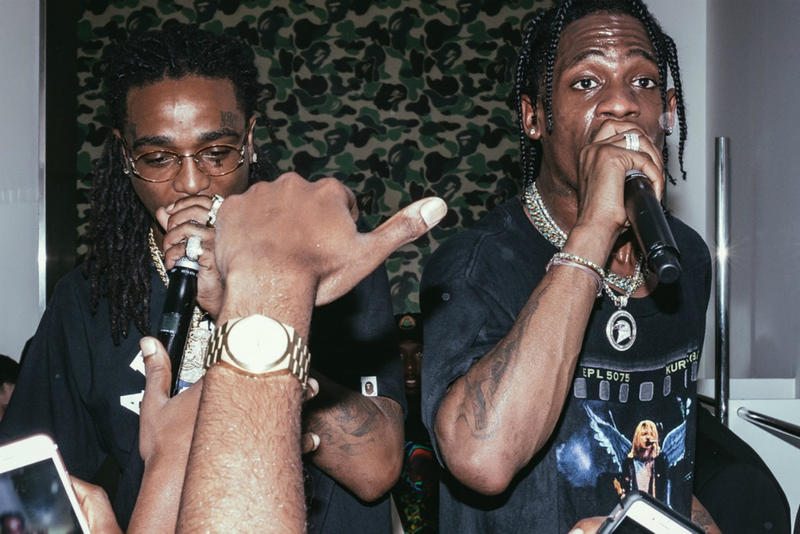 Travis Scott Quavo New Collab Song Video Preview