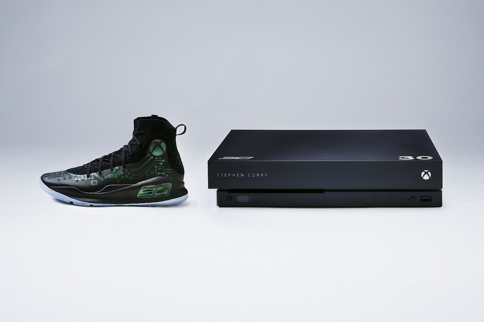 Under Armour Curry 4 x Xbox One X VIP