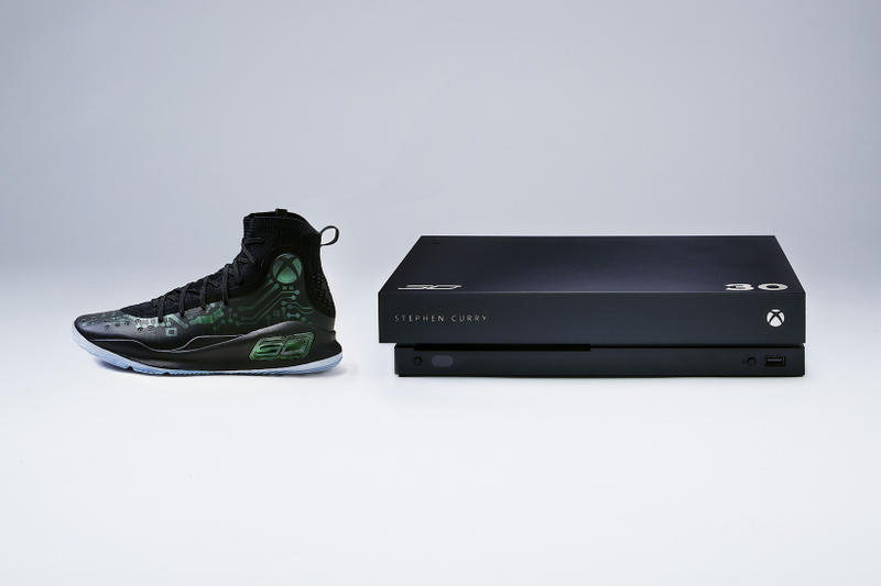 6de920d1b210 Under Armour Curry 4 Xbox One X VIP Kit Mache Custom Kicks Sneakers Shoes  Footwear
