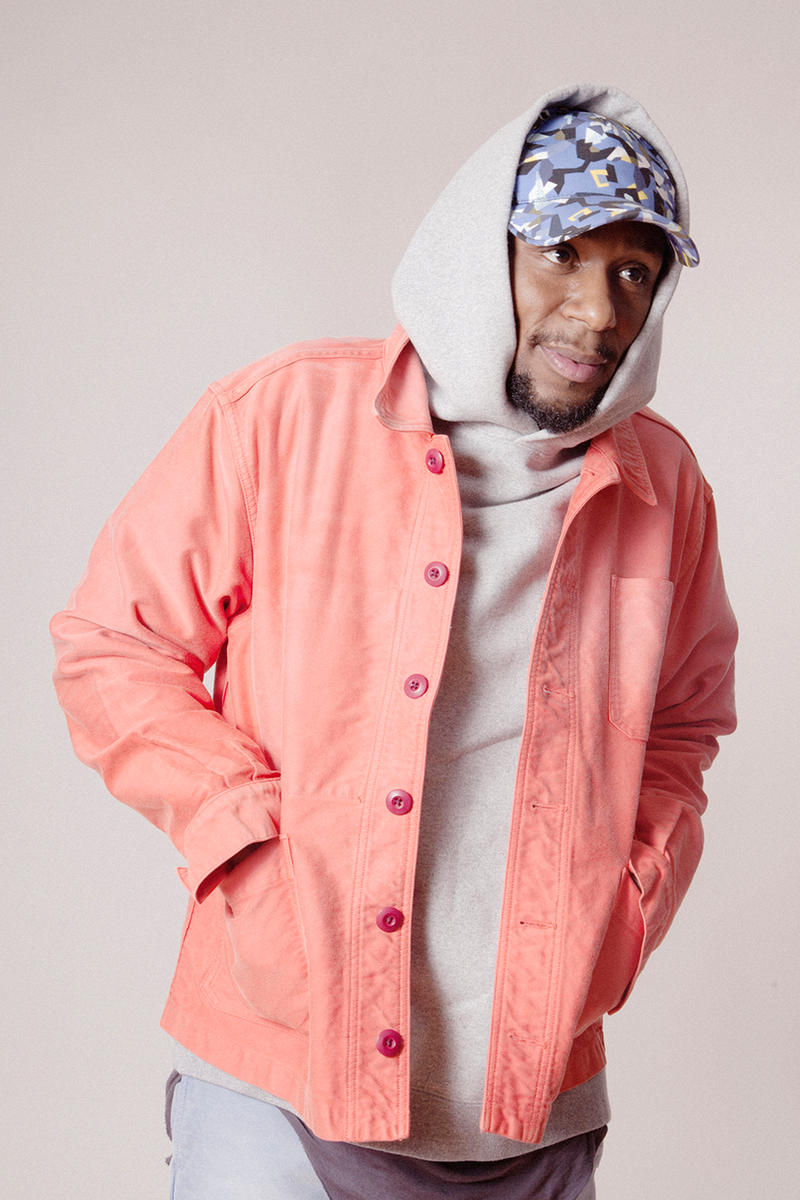 Union Los Angeles Debut Clothing Collection Fall/Winter 2017 Lookbook Yasiin Bey