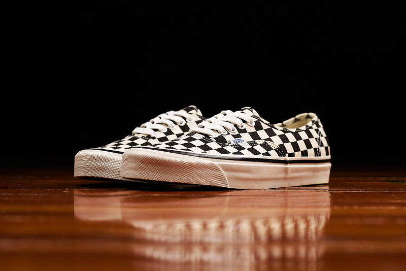7ca4270e09eee Vans Checkerboard Authentic 44 DX and Checkerboard Sk8-Hi Checkered  Authentic 44 DX Checkered sk8