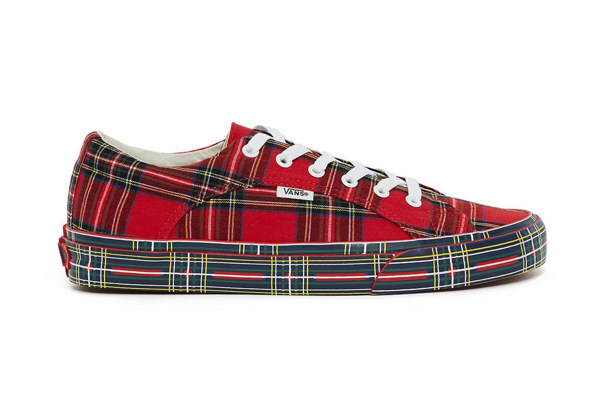 Vans Opening Ceremony Plaid Pack Vans Lampin footwear green read tartan flannel