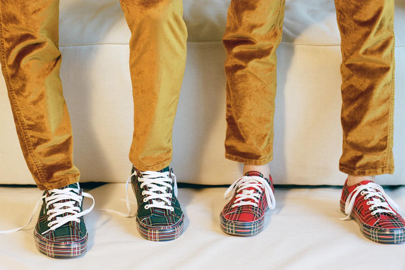 Vans & Opening Ceremony Go Plaid-On-Plaid in New Sneaker Pack
