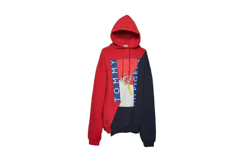 DHL Vetements JOYCE Hong Kong Exclusive 2017 Capsule Collection Umbro Tommy Hilfiger Raincoat Hoodies T-shirts Reebok