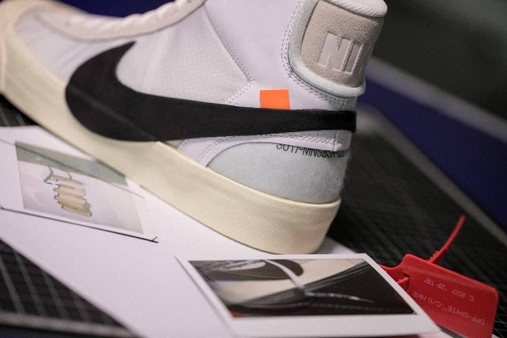 Virgil Abloh Nike The Ten Hong Kong Pop-Up Editorial HBX November 2017