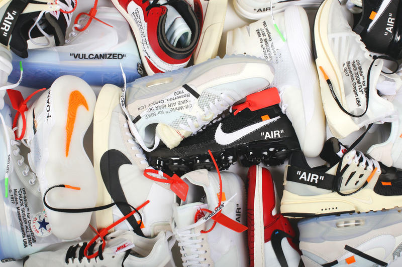 Virgil Abloh Nike The Ten SNKRS Release Schedule Off White