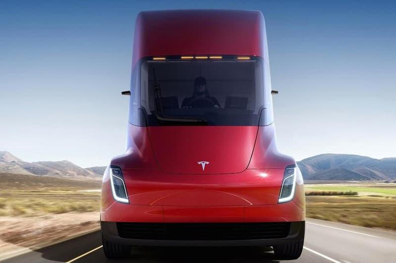 Walmart Tesla Electric Tractor Trailer Elon Musk