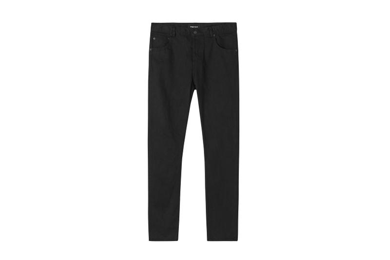 wings+horns Kyoto Montsuki Company Black Craig Atkinson hand dye dyeing canada japan trucker jacket crewneck sweatshirt sweatpants joggers denim jeans pants