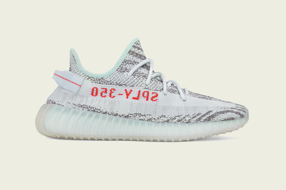 "YEEZY BOOST 350 V2 ""Blue Tint"" Release Date Closer Look Kanye West adidas Originals"