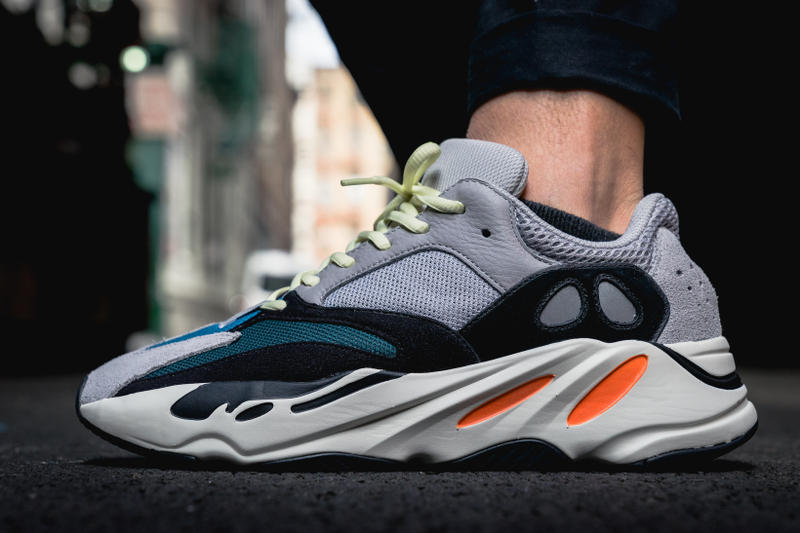 adidas YEEZY BOOST 700 On Feet Closer Look Wave Runner Kanye West Kim  Kardashian footwear 956e4380e