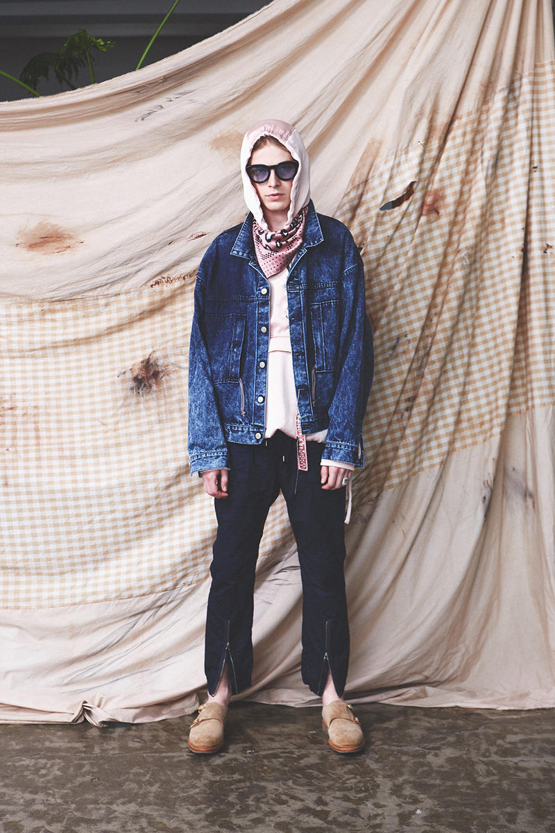 YSTRDY'S TMRRW 2018 Spring Summer Collection Japan Coverchord Nonnative Kazuya Sugano streetwear menswear fashion clothing jackets trousers denim jeans