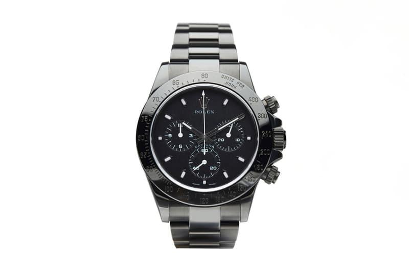 1290SQM Pro Hunter Rolex Daytona Black Watch Collaboration
