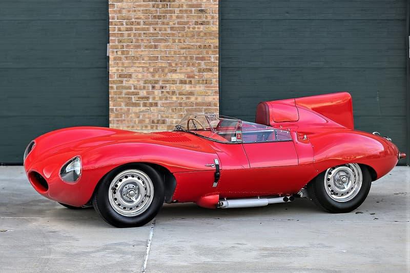 1965 Jaguar D Type Red Auction Gooding