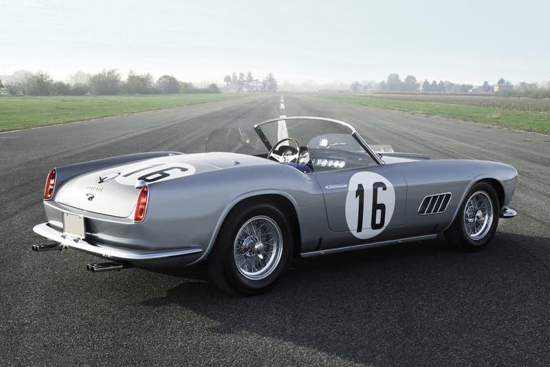1959 Ferrari 250 GT California Sale 18 Million USD Dollars RM Sothebys Auction Aluminum Steve Jobs BMW