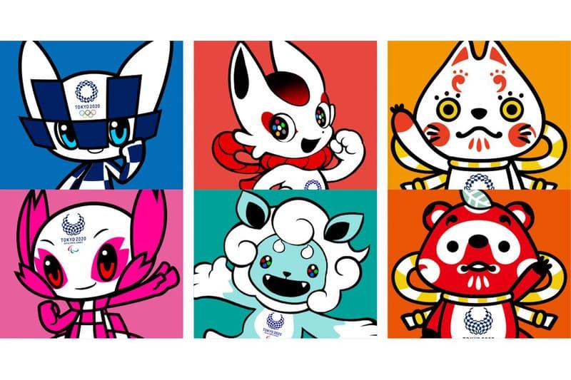 2020 Tokyo Olympic Games Potential Mascots Summer Japan Yokai