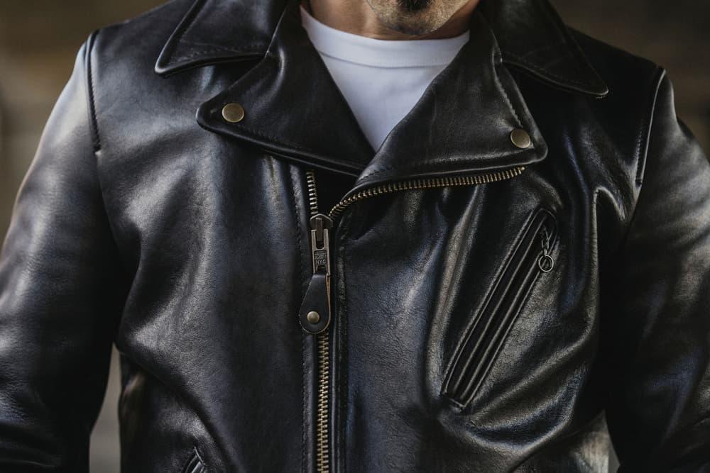 3sixteen Schott NYC Arabica Cowhide Leather Rider Jacket