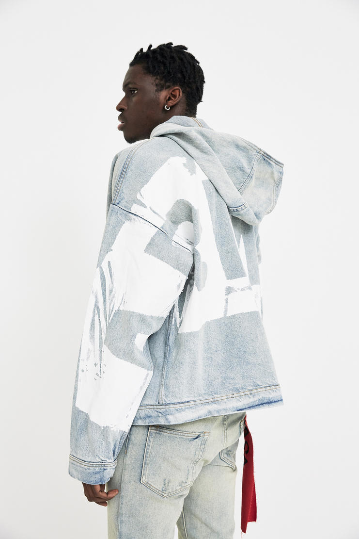 424 ARMES Fall Winter 2017 Capsule Collection Parka Hoodie SHOWstudio