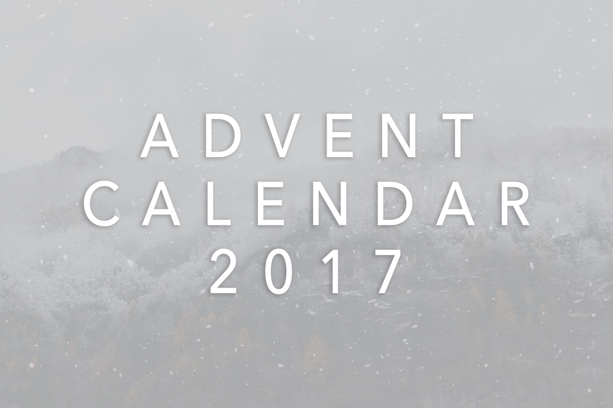 HYPEBEAST Advent Calendar 2017