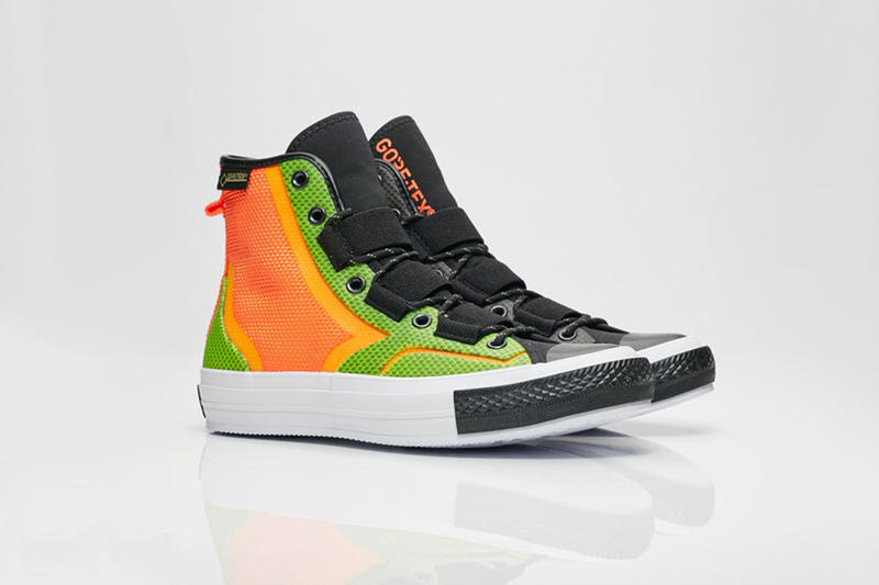 Converse New Urban Utility Hiker chuck 70 jump boot  Gore-tex Neon Green Neon Yellow Neon Orange Shoes Sneakers Street Holiday Gift Guide Black Khaki Beige Military Boots Waterproof Winter Fashion Technology