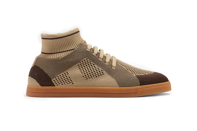 Fendi Releases a Luxurious Sock-Style Sneaker