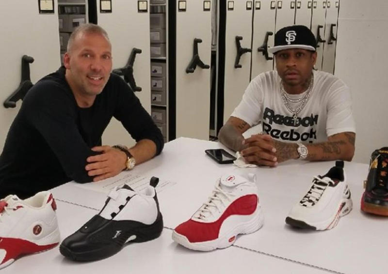 Allen Iverson and Reebok Bringing Back I3 Legacy Collection classic models like the Reebok Question Mid and Reebok Answer IV sneaker releases