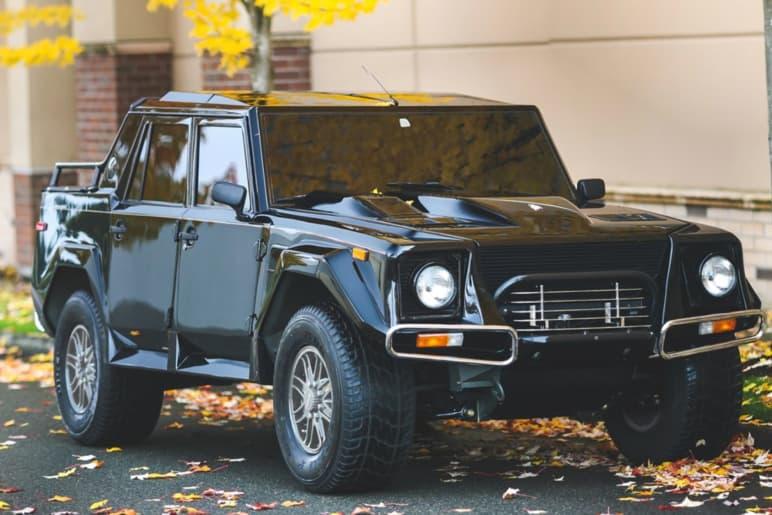 Rare 1990 Rambo Lambo Auctions for $467,000 RM Sotheby's automobile cars lamborghini urus