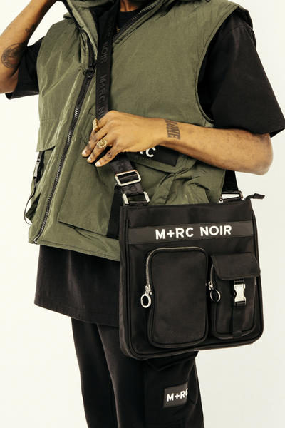 M+RC Noir New York Pop-Up store 2017 winter fall collection clothing Launch Messenger Bag Winter Pull-Over Holiday Gift Guide Menswear Mens Fashion
