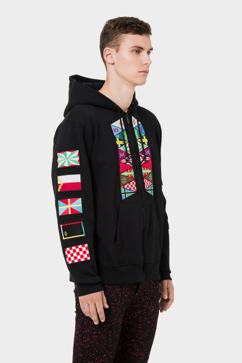 Marcelo Burlon County of Milan Flags Capsule Collection Streetwear Street Culture Vibrant Flag Clothing Socks Backpack Checkered Sportswear Lounge