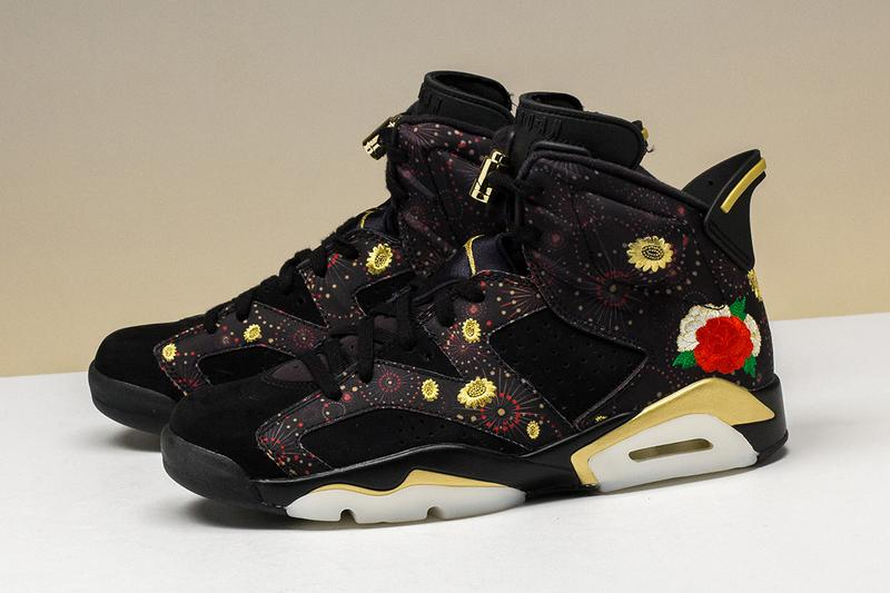 "Nike Air Jordan 6 Retro ""Chinese New Year"" Floral"