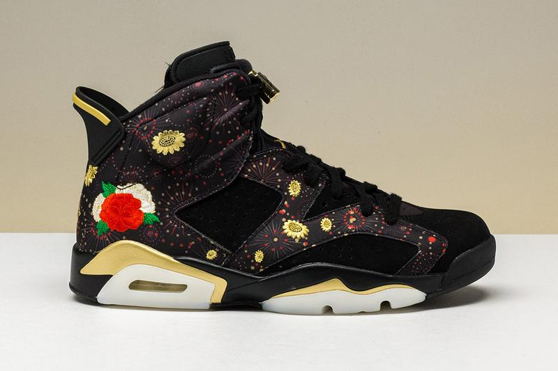 "177df31937d6d5 Nike Air Jordan 6 Retro ""Chinese New Year"" Floral. 1 of 4. Sneaker News"