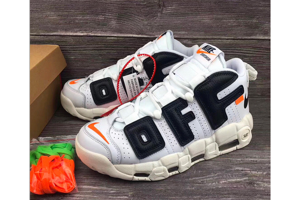 Off-White x Nike Air More Uptempo